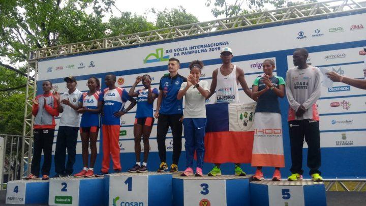 Atleta Marcos Fernandes de Lajedinho foi 2° brasileiro na XXI Volta Internacional da Pampulha