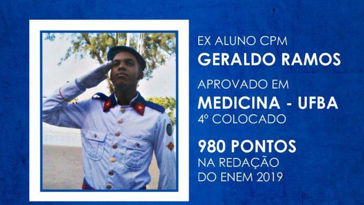 Ex-aluno da PM fica em 4º lugar no curso de medicina da Ufba