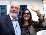 Fátima e Jaques Wagner estão passando a quarentena na Chapada Diamantina