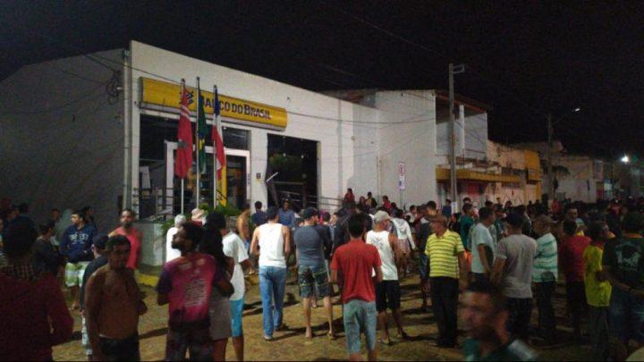 Bandidos atacam agência do Banco do Brasil em Utinga